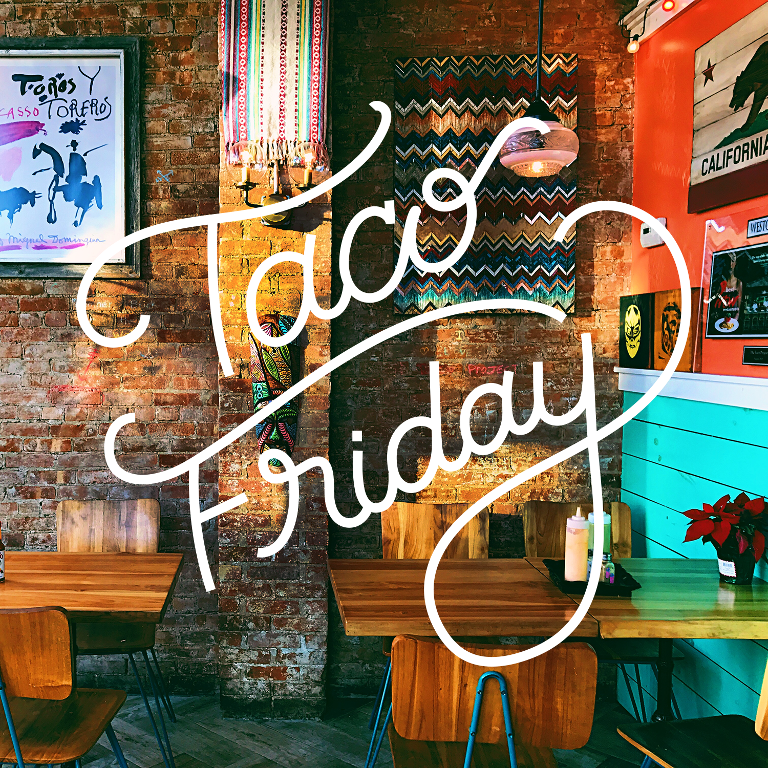 Taco Friday Handlettering