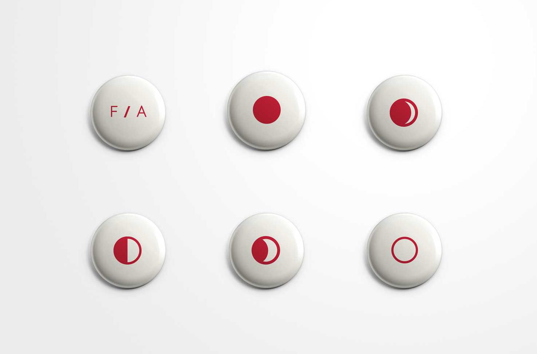 FA Moon Pins