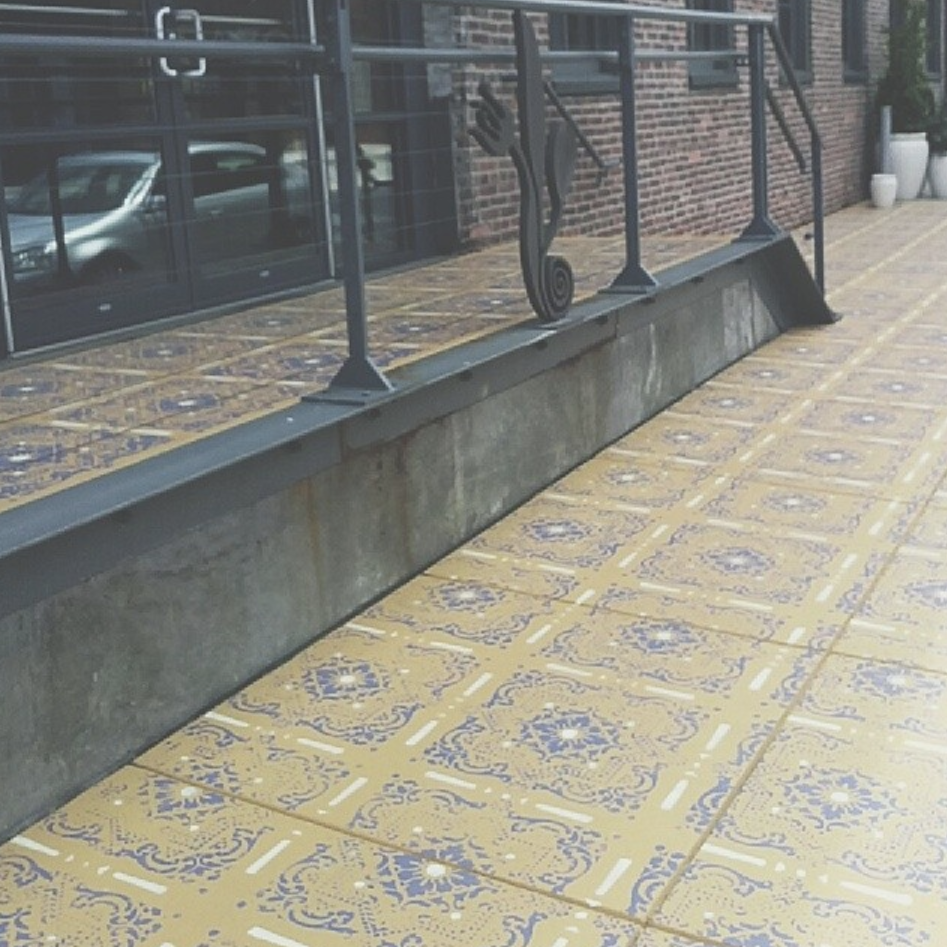 Pazo Sidewalk Mural